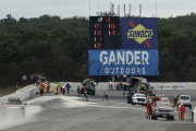 IndyCar: deux Canadiens impliqués dans un carambolage