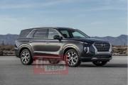 Un vrai exploit d'espion russe : le magazine <em>La Revue Auto</em> dévoile le prochain gros VUS de Hyundai