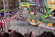 Cinq blessés dans un violent accident en F3