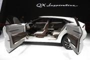 QX Inspiration - un avant-goût des futures Infiniti électriqueset un peu de poésie japonaise à l'arrière