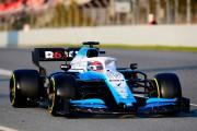 Williams parvient à faire démarrer ses F1 lors des essais hivernaux