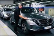 Mercedes prêt à assembler 100 EQC tout électriques par jour
