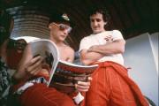 Avec Niki Lauda, «la F1 perd un seigneur», dit Alain Prost à l'AFP