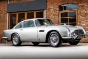 L'Aston Martin DB5 vedette de<em>Goldfinger</em>aux enchères
