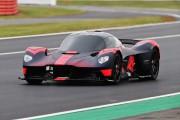 Aston Martin a montré sa Valkyrie de 1160 ch au GP de Grande-Bretagne