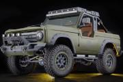 Une camionnette Bronco et une familiale en vue chez Ford