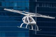 Un taxi volant électrique Volocopter a volé au-dessus de Singapour
