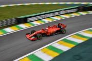 GP de F1 du Brésil: Ferrari répond aux suspicions en dominant les essais libres