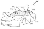 Tesla veut zapper au laser les saletés et insectes collés au pare-brise