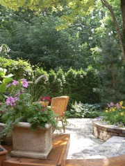 Un aménagement paysagé de qualité, dans un jardin... (Photo fournie par Paysagiste Roche) - image 1.0