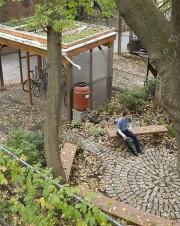 Des matériaux recyclés et récupérés oui, mais beaucoup... (Photo Alain Roberge, La Presse) - image 1.0