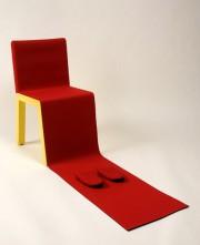 Un brin sarcastique, la chaise HIH ou Honey... (Photo fournie par le Centre de design de l'UQAM) - image 1.0