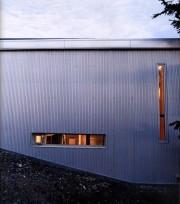 Les fenêtres du mur nord, en acier galvanisé,... (Photo Dave Lauridsen) - image 1.0