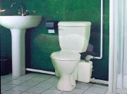 La toilette Sanibest est munie d'un broyeur et... (Photo fournie par Saniplus) - image 1.0