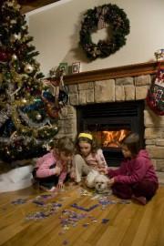 Les vacances de Noël, enfin! Les décorations, le... (Photo David Boily, La Presse) - image 1.0