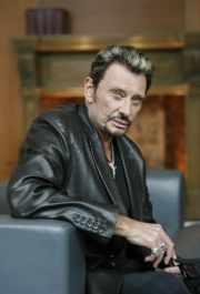 Le rockeur français Johnny Hallyday... (Photo: Robert Skinner, La Presse) - image 1.0