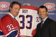 Patrick Roy et Guy Carbonneau... (Photo: André Pichette, La Presse) - image 3.0