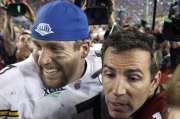 Les deux quarts partants, Ben Roethlisberger et Kurt... (REUTERS) - image 1.0