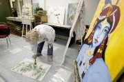 Une séance d'art-thérapie à La rue des femmes.... (Photo: Alain Roberge, La Presse) - image 1.0