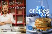 Deux livres de recettes de crêpes viennent d'arriver... - image 1.0