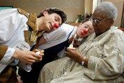 Sale temps pour les clowns. Entraînés bien... (Photo Robert Mailloux, La Presse) - image 2.0