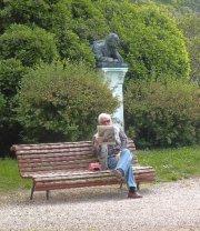 Dans les jardins de la Biennale, à Venise.... (Photo: Marie-Christine Blais, La Presse) - image 2.0