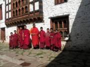 Lopen Dondon, professeur au monastère de Phajoding, et... (Photo: André Désiront, collaboration spéciale) - image 5.0