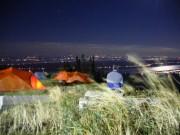 Camping au sommet du Mont Sainte-Anne... (Photo fournie par Bougex) - image 4.0