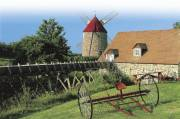 Les moulins de l'Isle-aux-Coudres, qui figurent sur le... (Photo fournie par tourisme Charlevoix) - image 2.0