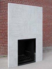Manteau de cheminée Tectonique disponible en deux grandeurs.... (Photo: fournie par Design M3béton) - image 1.0