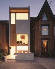 maison architecte sur terrain etroit