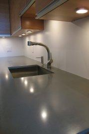 Du b ton plus l ger pour la maison marie france l ger - Faire un comptoir en beton ...