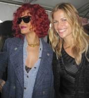Rihanna et Ima étaient présentes au Grand Prix... (Photo fournie par Alessandro Cerundolo) - image 1.0