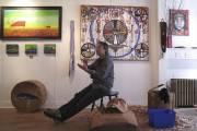 La galerie d'art autochtone Klu'skap.... (Photo Marie-Ève Cousineau, collaboration spéciale La Presse) - image 2.0