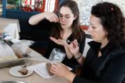 Lors de la dégustation, les goûteuses Pascale Clavet-Melançon... (Le Soleil, Yan Doublet) - image 1.0