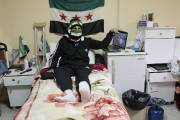 Les médecins des cliniques clandestines soignant les rebelles... (Photo: Husein Malla, AP) - image 2.0