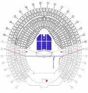 Exemple d'une configuration de 35 000 sièges au... (Illustration fournie par le Parc olympique) - image 3.0