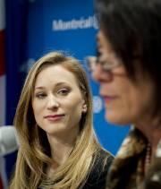 Joannie Rochette est porte-parole des Jeux de Montréal.... (Photo: Marco Campanozzi, La Presse) - image 2.0
