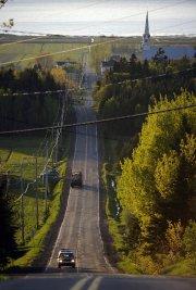 La région de Kamouraska dans le Bas-Saint-Laurent... (Photo Bernard Brault La Presse) - image 2.0