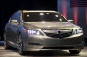 L'Acura RLX est équipé d'une motorisation hybride dont la puissance    combinée équivaut à 370 chevaux.