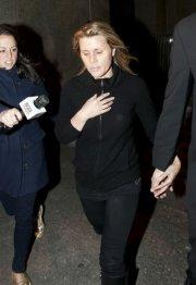 Geneviève Sabourin à sa sortie de cour à... (Photo: Reuters) - image 2.0