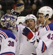 Brad Richards (au centre), qui a souligné la... (Photo: PC) - image 2.0