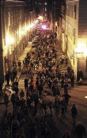 Loin de s'essouffler, les manifestations contre la hausse... (Le Soleil, Erick Labbé) - image 1.1