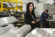 Renée Demers, présidente d'Atelier d'usinage Quenneville... (Photo Robert Skinner, La Presse) - image 2.0