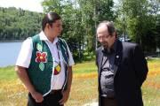 Le chef du conseil de bande de Wemotaci,... (Photo: Gabriel Delisle) - image 1.0
