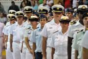 Les cadets de la Marine du NCSM Québec... (Photo: Stéphane Lessard) - image 1.0