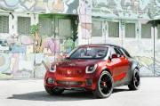 Le concept Smart Forstars sera présenté au prochain Mondial de l'auto de Paris.