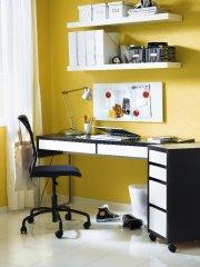 Le bureau la maison une place au soleil bien m rit e mich le laferri re - Couleur mur bureau maison ...