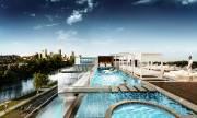 Une piscine sera aménagée sur la passerelle transparente.... (Illustration fournie par Melkiliving) - image 2.0