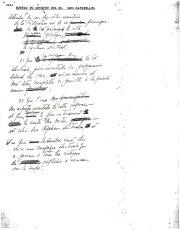Notes de René Lévesque sur le financement des... (Archives Le Soleil) - image 1.0